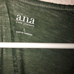 a.n.a Tops - Open shoulder tshirt